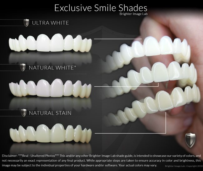 Exclusive Smile Shades by Brighter Image Lab