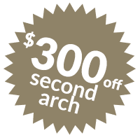 $300 off Second Arch